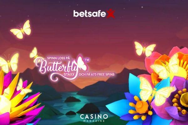 Butterfly staxx kampanj spins