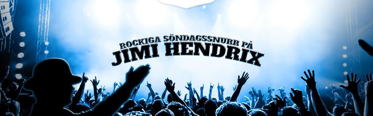 MrGreen banner spins på Jimi Hendrix