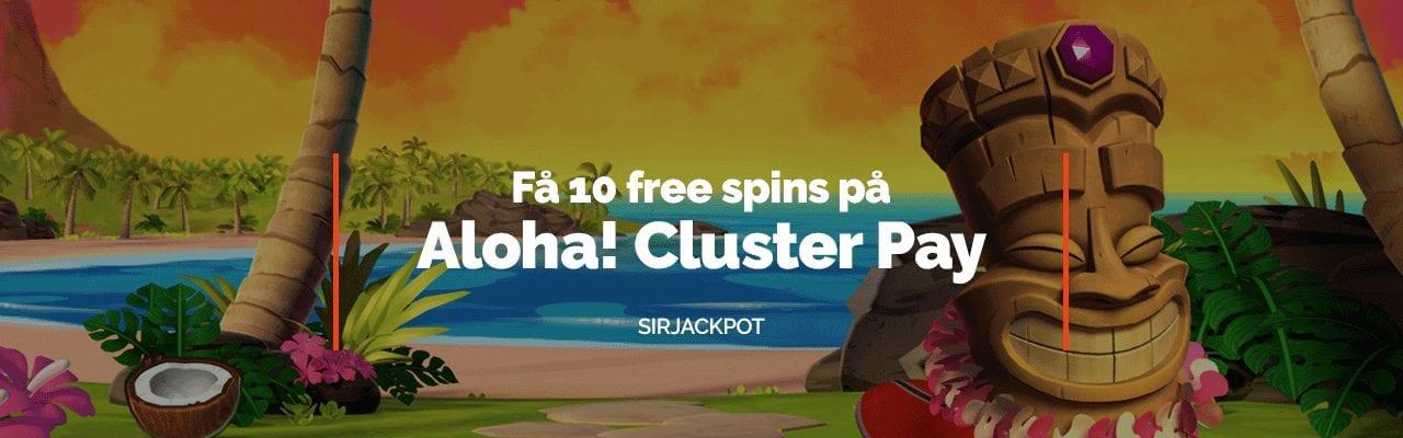 SirJackpot bjuder in till lördagens free spins