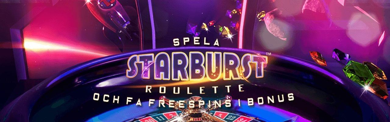 Betssons rouletteerbjudande med upp till 200 free spins i bonus