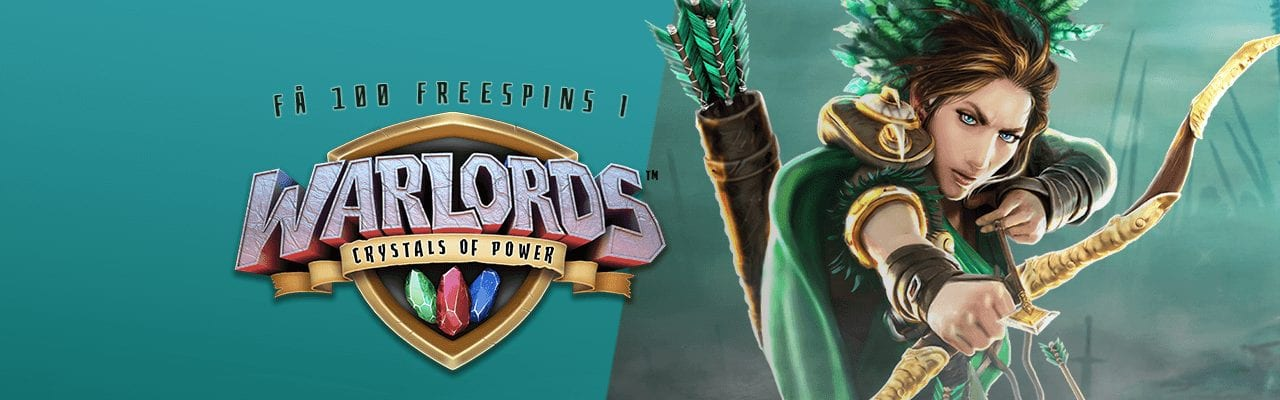 Fastbet bjuder in till 100 free spins i sloten Warlords