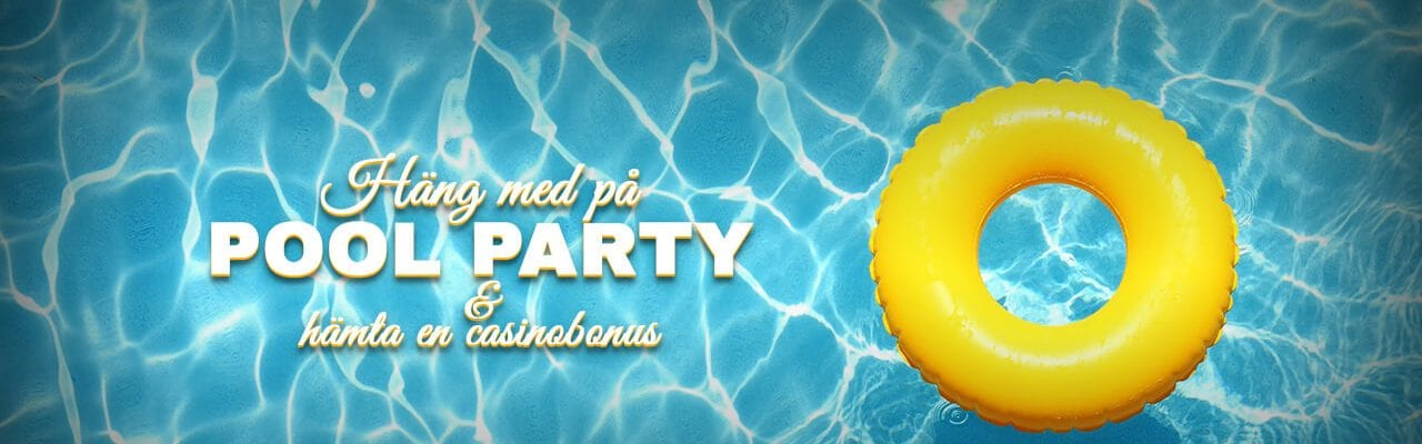 Casinocruise - pool party kampanj