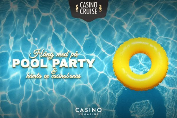 Casinocruise - pool party kampanj
