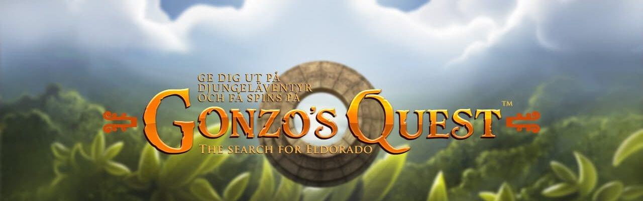 djungel gonzos quest logga
