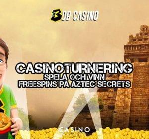 Bobcasino, aztek-pyramid - bild på Bob med skatt