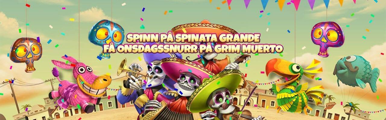 Mobilebet freespinserbjudande mexikanskt tema