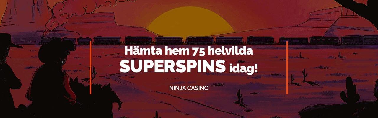 NinjaCasino bjuder in till free spins