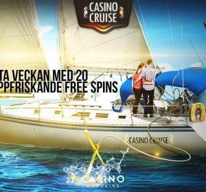 Friska freespins hos Casino Cruise