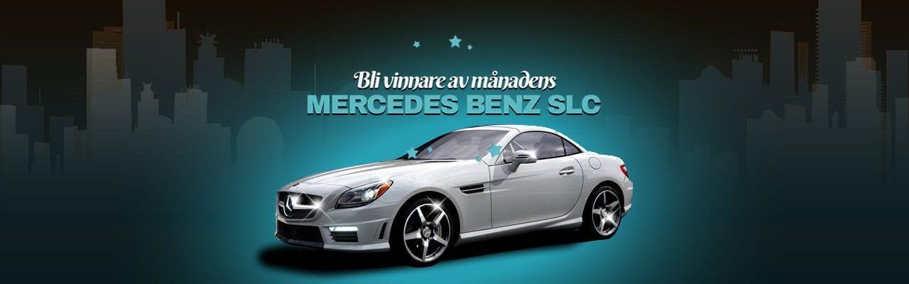 Mercedes benz SLC månadens vinst