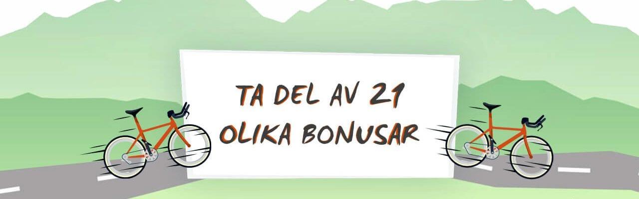 21 bonusar hos Instacasino