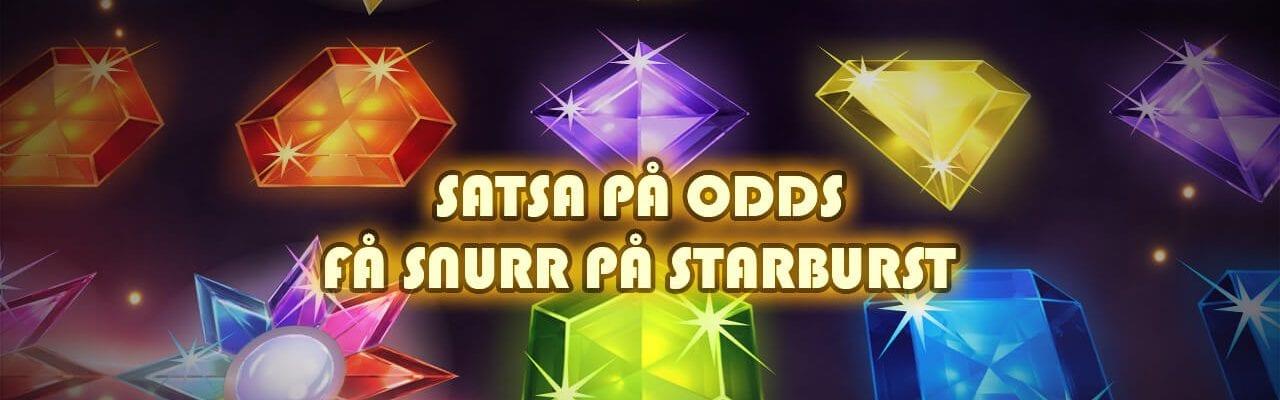 Mobilebet kampanj spins på Starburst