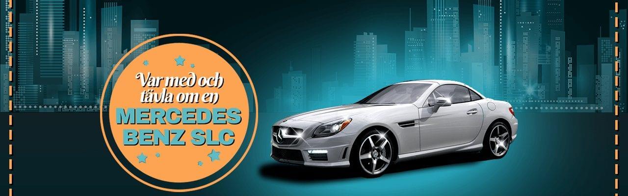 Vinn en Mercedes-Benz hos SpinStation denna månad