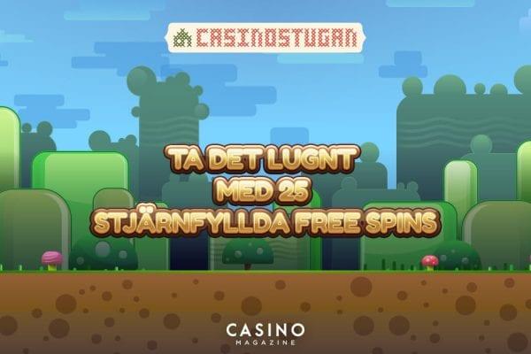Casinostugans söndagsspins