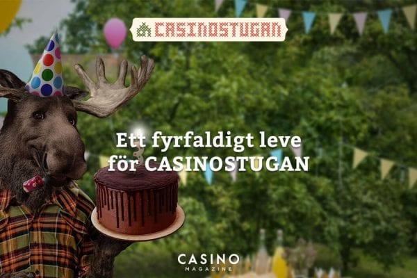 Casinostugan fyller tre år