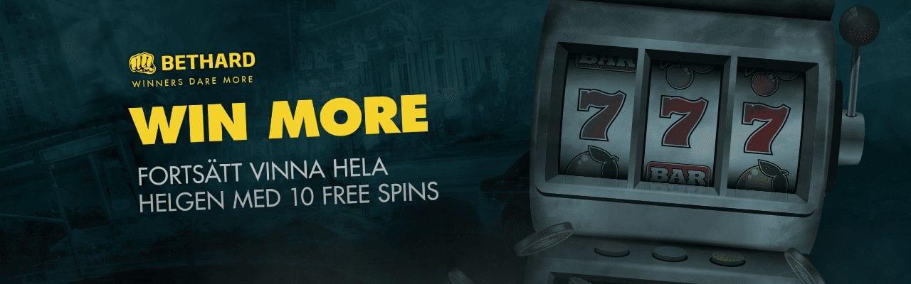 Bethrad söndag free spins