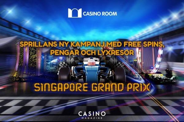 Casino Room grand prix kampanj