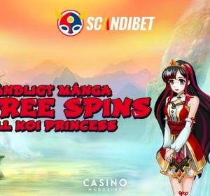 Oändligt med free spins hos Scandibet