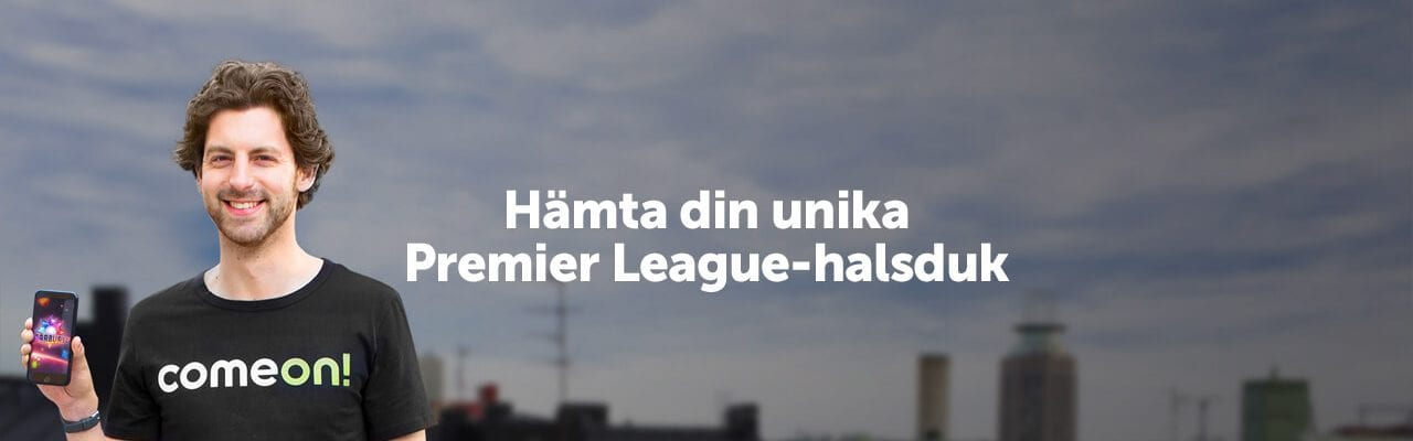 Come On premier league halsduk