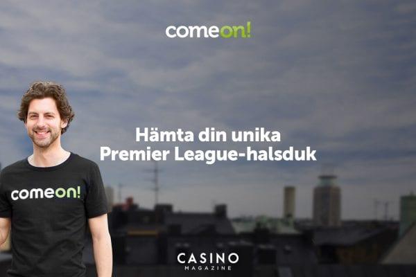 Come On premier league halsduk