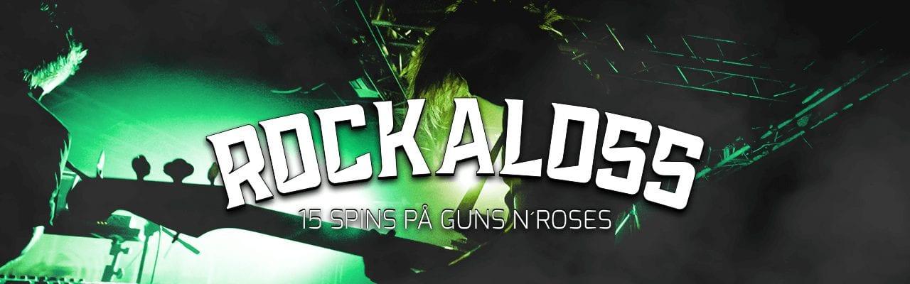 Mobilebet free spins på Guns N Roses