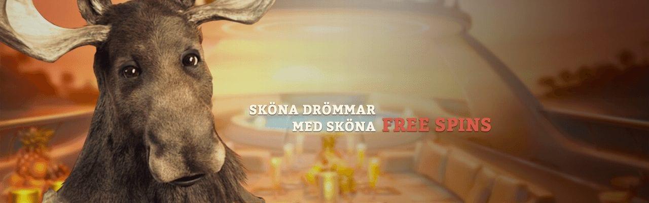 Sköna free spins hos Casinostugan