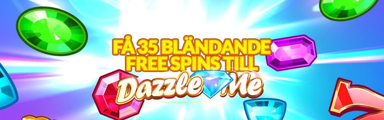 35 bländande free spins hos viks