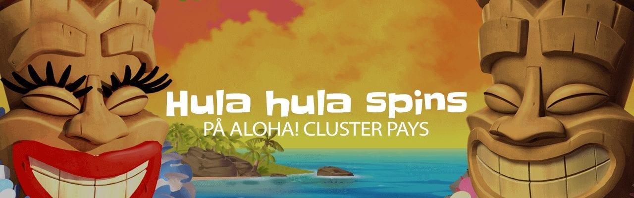 Casilando free spins på Aloha