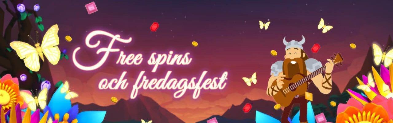 Scandibet fredags free spins