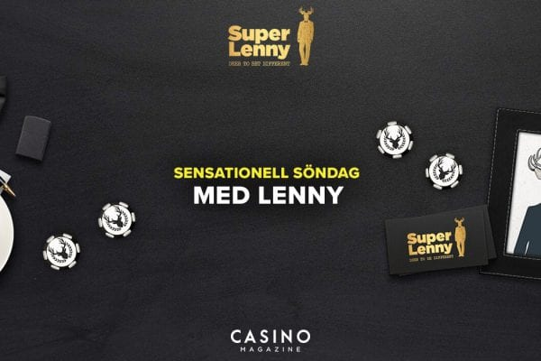 sensationell söndag hos Superlenny