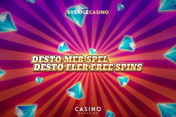 SverigeCasino lördag free spins