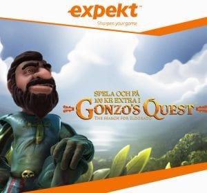 Expekt dagens spinserbjudande Gonzos