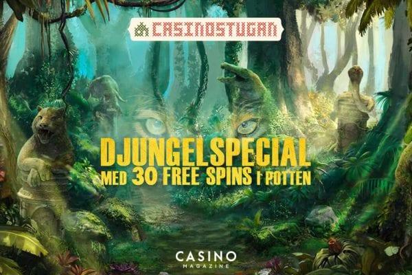 Casinostugan Freespinserbjudande Jungle Spirit