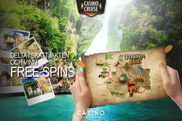 Skattjakt hos Casino cruise