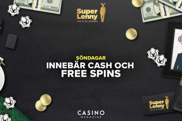 Söndag free spins Superlenny