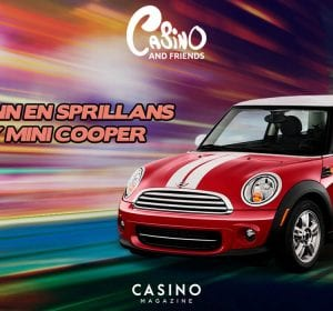 Vinn en Mini cooper hos Casinoandfriends