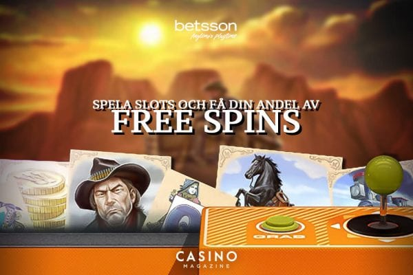 Betsson måndags free spins