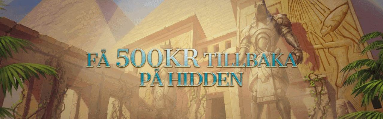 Betsson cash back på Hidden slot