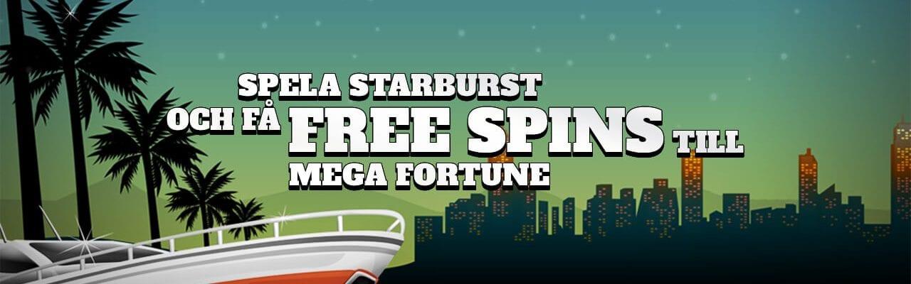 Folkeautomaten kampanj- free spins på Mega Fortune