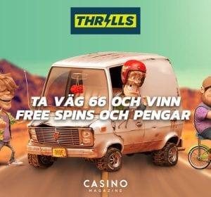 Thrills route 66 kampanj