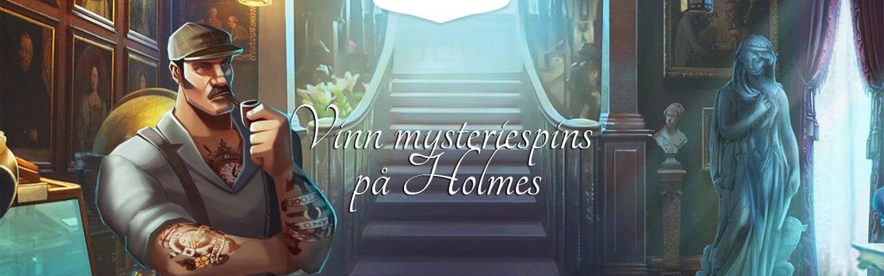 Mrgreen kampanj på spelautomaten Holmes