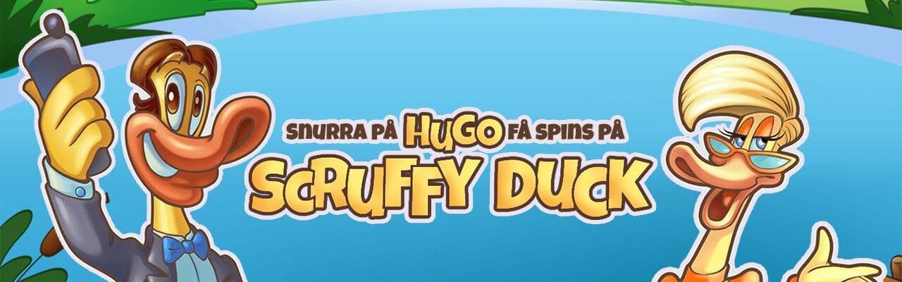 Folkeautomaten spinserbjudande på Scruffy Duck