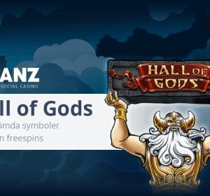 Chanz Social Casino Hall of Gods banner