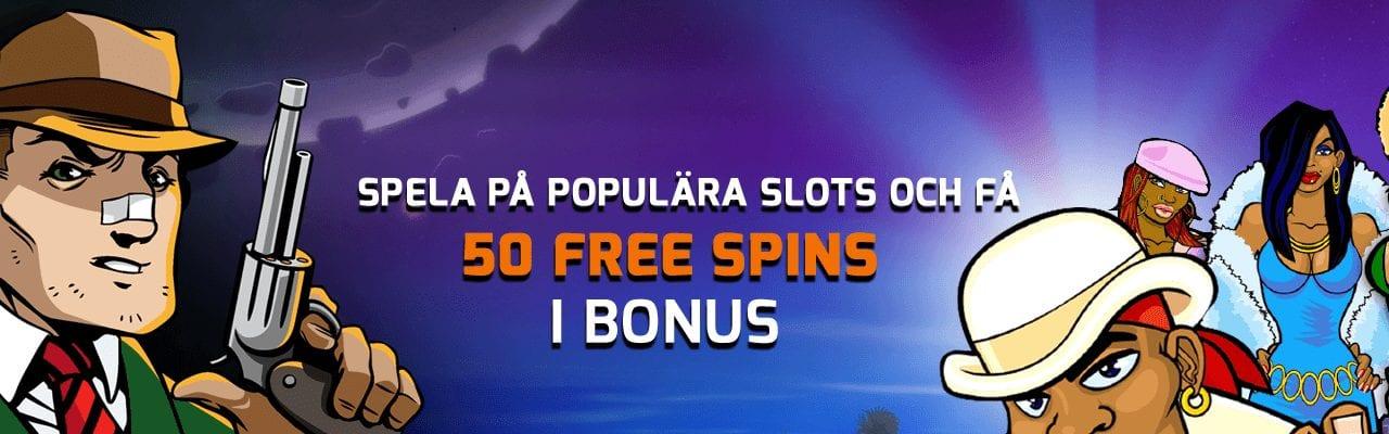 Expekt 50 free spins onsdagserbjudande