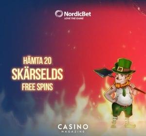 Nordic Banner - free spins kampanj