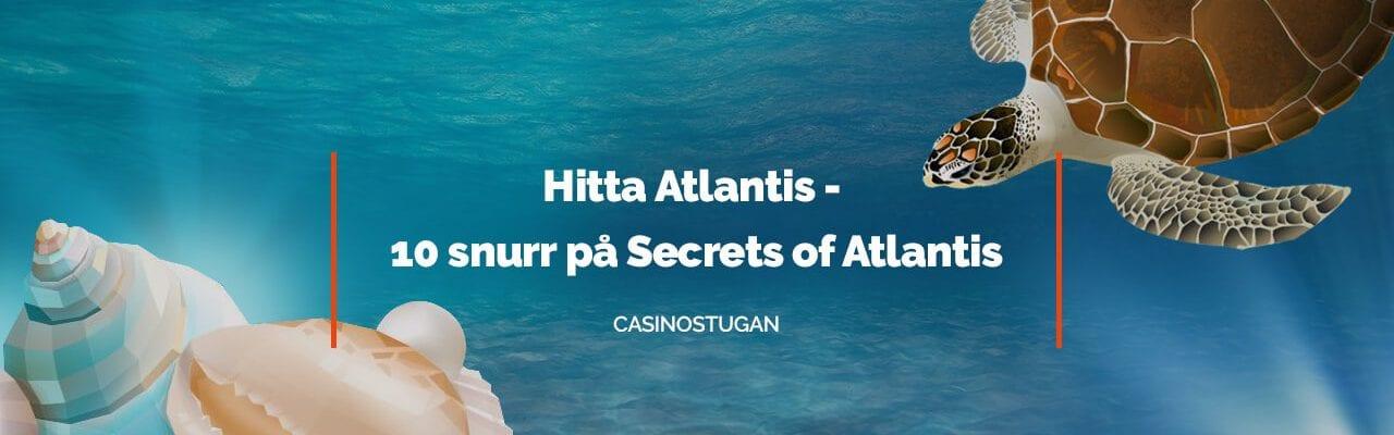Free spins på Secrets of Atlantis