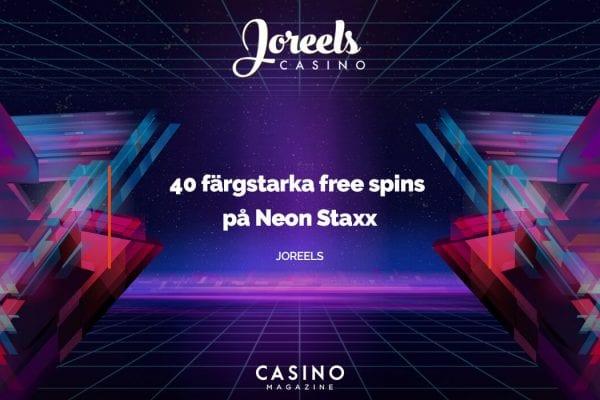 Joreels free spins weekend