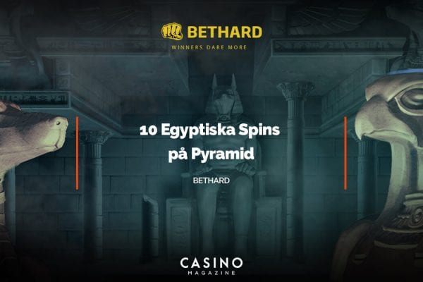 Bethard Win More spins på Pyramid