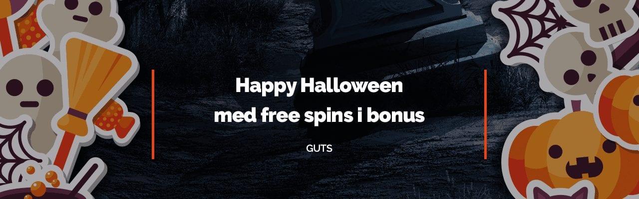 Spöklika free spins finns att hämta hos Guts
