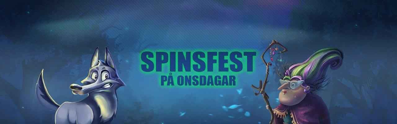 Drift Casino kampanj spinsfest på onsdagar