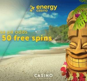 Energy casino free spins Aloha